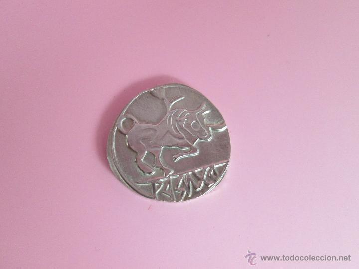 Reproducciones billetes y monedas: MONEDA COLECCIÓN(reproducción)-PLATA(¿BAÑO DE PLATA?)-ARAGÓN-SIN DATAR-3,74-17 MM.D--. - Foto 7 - 39512938