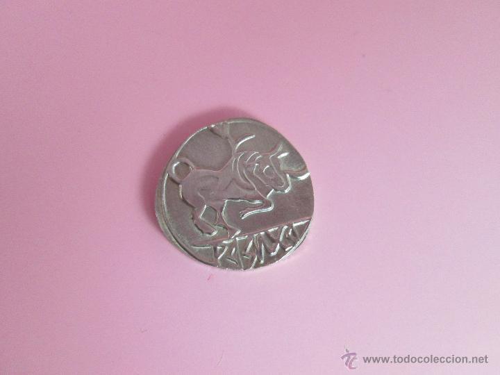 Reproducciones billetes y monedas: MONEDA COLECCIÓN(reproducción)-PLATA(¿BAÑO DE PLATA?)-ARAGÓN-SIN DATAR-3,74-17 MM.D--. - Foto 8 - 39512938