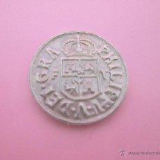 Reproducciones billetes y monedas: MONEDA COLECCIÓN(REPRODUCCIÓN)-PLATA(¿BAÑO DE PLATA?-ARAGÓN-20 MM.D-3,70 GRS-VER FOTOS.. Lote 39512918