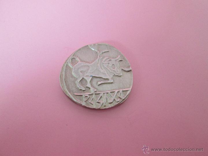 Reproducciones billetes y monedas: MONEDA COLECCIÓN(reproducción)-PLATA(¿BAÑO DE PLATA?)-ARAGÓN-SIN DATAR-3,74-17 MM.D--. - Foto 10 - 39512938