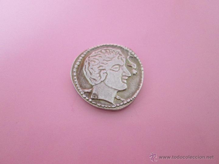 Reproducciones billetes y monedas: MONEDA COLECCIÓN(reproducción)-PLATA(¿BAÑO DE PLATA?)-ARAGÓN-SIN DATAR-3,74-17 MM.D--. - Foto 11 - 39512938