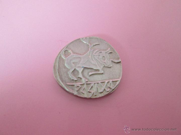 Reproducciones billetes y monedas: MONEDA COLECCIÓN(reproducción)-PLATA(¿BAÑO DE PLATA?)-ARAGÓN-SIN DATAR-3,74-17 MM.D--. - Foto 12 - 39512938