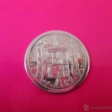 Reproducciones billetes y monedas: AªMONEDA PLATA(¿BAÑO DE PLATA?)-10 CTS-1953-PATACÓN-23 MM.D-3,82 GRS-.. Lote 39360005
