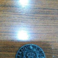 Reproducciones billetes y monedas: REPRODUCCIÓN MONEDA FERNANDO VI -- OCHO REALES -- 1755 -- COLECCIÓN ORTIZ . Lote 53782832