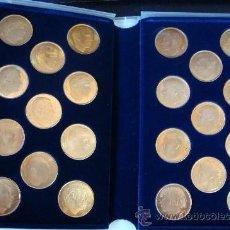 Reproducciones billetes y monedas: 22 MEDALLAS JUGADORES DEL VALENCIA . Lote 54092754