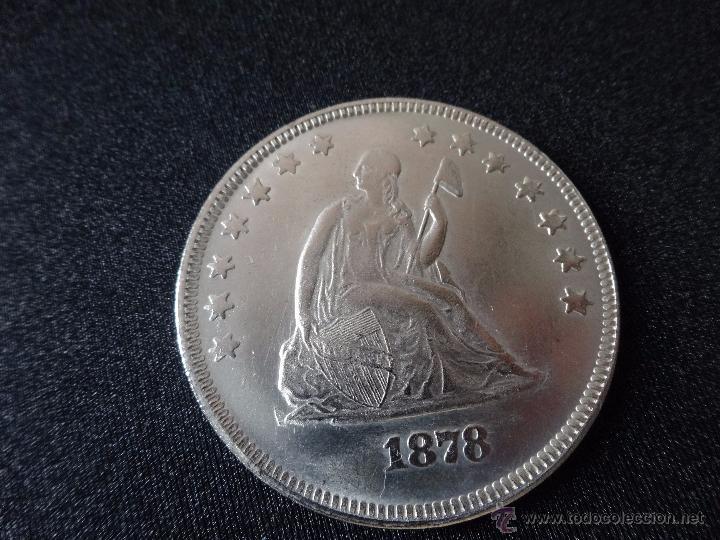 UN DOLAR USA 1878 (Numismática - Reproducciones)