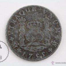 Reproducciones billetes y monedas: MEDALLA / REPRODUCCIÓN LAS MONEDAS DE LOS BORBONES. COL. ORTIZ - SERIE I. FERNANDO VI, 8 REALES 1755. Lote 54632721