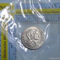 Reproducciones billetes y monedas: MONEDA REPRODUCCIÓN FACSÍMIL. 1 PESETA 1937 GOBIERNO EUZKADI. HISTORIA DE LA PESETA. PRECINTADA. Lote 55142946