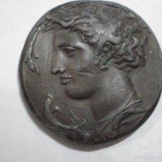 Reproducciones billetes y monedas: COPIA O REPRODUCCION DE MONEDA GRIEGA DECADRACMA SIRACUSA. BUENOS RELIEVES. Lote 56107303