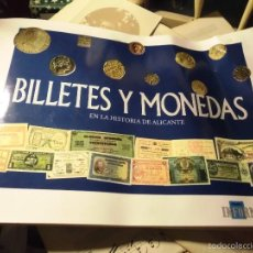 Reproducciones billetes y monedas: ALBUM BILLETES DE ESPAÑA DE DIARIO INFORMACION ALICANTE LIBERAMENTE ARRUGADO. Lote 56335246