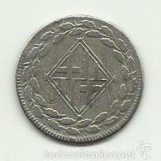 Reproducciones billetes y monedas: UNA PESETA DE 1813 DE BARCELONA REPRODUCCION. Lote 56594307