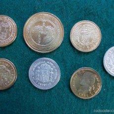 Reproducciones billetes y monedas: LOTE REPRODUCCIÓN DE MONEDAS. Lote 56610718
