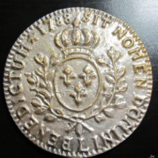 Reproducciones billetes y monedas: MONEDA MEDALLA 7,5 CM BENEDICTUM SIT NOMEN DOMINI 1788. Lote 56844816