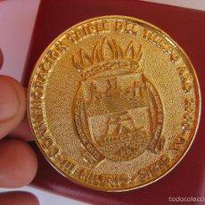 Reproducciones billetes y monedas: MONEDA MEDALLA NAZARET VALENCIA 2000 CONMEMORACION TRIPLE DEL TIEMPO III MILENIO CLUB JUBILADOS. Lote 57554672