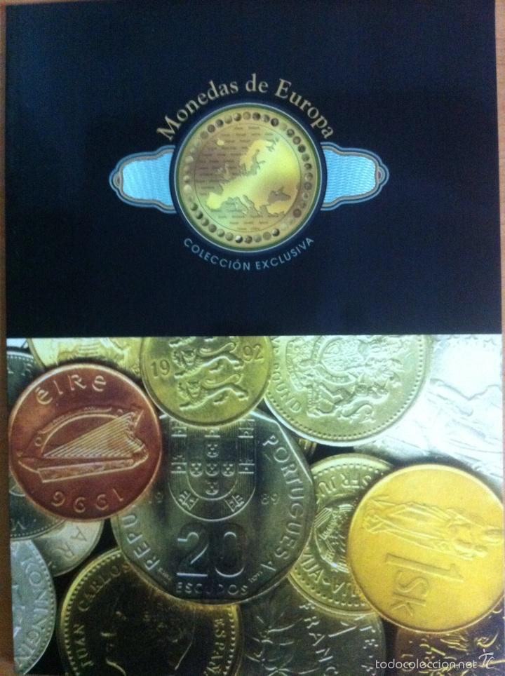 33 MONEDAS DE EUROPA (REPRODUCCIONES) (Numismática - Reproducciones)