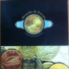 Reproducciones billetes y monedas: 33 MONEDAS DE EUROPA (REPRODUCCIONES). Lote 57911621