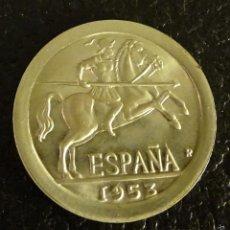 Reproducciones billetes y monedas: REPRODUCCIÓN DE LA MONEDA 10 CÉNTIMOS ESTADO ESPAÑOL. CECA MADRID. Lote 57936058