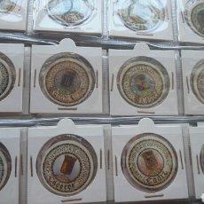 Reproducciones billetes y monedas: IMPRESIONANTE LOTE COMPLETO, 50 CARTONES MONEDA USO PROV., TODAS LAS PROVINCIAS DE ESPAÑA. Lote 61972100