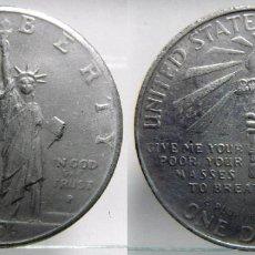 Reproducciones billetes y monedas: ESTADOS UNIDOS 1 DOLAR 1906. Lote 62445724