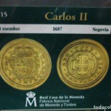 Reproducciones billetes y monedas: 8 ESCUDOS 1687 SEGOVIA COLECCION DEL REAL ALA PESETA. Lote 64022363