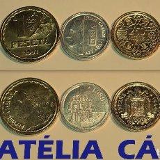 Reproducciones billetes y monedas: FNMT – 5 MONEDAS - COLECCIÓN DEL REAL A LA PESETA – PLATA Y ORO – REAL 07. Lote 64189647