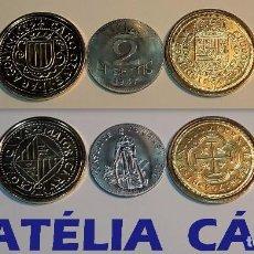 Reproducciones billetes y monedas: FNMT – 5 MONEDAS - COLECCIÓN DEL REAL A LA PESETA – PLATA Y ORO – REAL 08. Lote 64189867