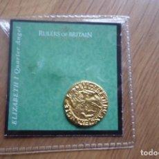 Reproducciones billetes y monedas: RULERS OF BRITAIN,ELIZABETH I,NUEVA. GOBERNANTES BRITANICOS COLECCIÓN.COPIA. Lote 66923378