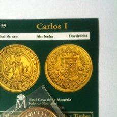 Reproducciones billetes y monedas: CARLOS I-REALDE ORO-SIN FECHA-DORDRECHT. Lote 66925810