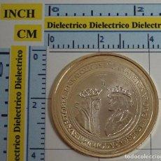 Reproducciones billetes y monedas: REPRODUCCIÓN MONEDA FNMT. 100 DUCADOS DE 1528 JUANA Y CARLOS. ORO. 5 / 40 DEL REAL A LA PESETA. . Lote 74899611