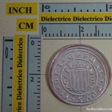 Reproducciones billetes y monedas: REPRODUCCIÓN MONEDA FNMT. 8 REALES DE FELIPE III. ZARAGOZA. PLATA. 10 / 40 DEL REAL A LA PESETA. . Lote 67035074