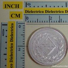 Reproduções notas e moedas: REPRODUCCIÓN MONEDA FNMT. 5 PESETAS DE JOSÉ NAPOLEÓN BARCELONA. PLATA 24 / 40 DEL REAL A LA PESETA.. Lote 204269811
