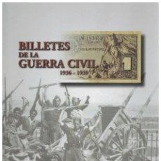 Reproducciones billetes y monedas: ALBUM Y BILLETES DE LA GUERRA CIVIL REPRODUCCIONES FNMT. Lote 67241021