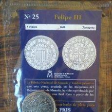 Reproducciones billetes y monedas: Nº 25 FELIPE III 1611 ZARAGOZA. Lote 68721245