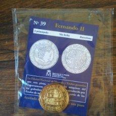 Reproducciones billetes y monedas: Nº 39,FERNANDO II-1 PRINCIPADO-SIN FECHA-BARCELONA. Lote 68721949