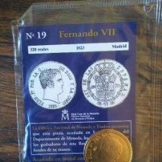 Reproducciones billetes y monedas: Nº 19-FERNANDO VII-320 REALES-1823-MADRID. Lote 68722117