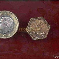 Reproducciones billetes y monedas: L16 MONEDA MEDALLA FICHA EKL FV ~ BALNEARIO DE MONDARIZ ~ ~ REPRODUCCIÓN REPLICA GALICIA. Lote 69732353