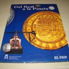 Reproducciones billetes y monedas: DEL REAL A LA PESETA . Lote 75640239