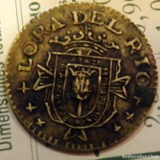 Reproducciones billetes y monedas: GUERRA CIVIL : MONEDA LOCAL DE 25 CTS DE LORA DEL RIO ( SEVILLA ) , AÑO DE LA VICTORIA. Lote 79741113