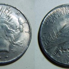 Reproducciones billetes y monedas: ESTADOS UNIDOS REPRODUCCION DE 1 DOLAR 1923 36MM 17,50GR. Lote 79879541