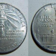 Reproducciones billetes y monedas: ESTADOS UNIDOS REPRODUCCION DE 1 DOLAR 1906 36MM 17,50GR. Lote 79879965