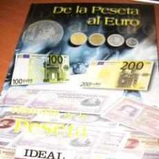 Reproducciones billetes y monedas: PASTA DURAS. INCOMPLETO. AÑO 1999 REPLICAS: 9 MONEDAS Y 14 BILLETES. Lote 80795195