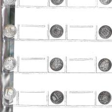 Reproducciones billetes y monedas: 12 MONEDAS DE PLATA DE LA HISTORIA DE LA PESETA. Lote 102573360