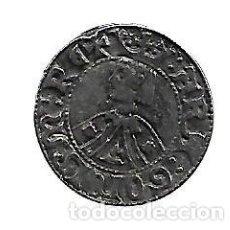 Reproducciones billetes y monedas: MONEDA ARAGONESA DE JAIME I EL JUSTO REPRODUCCION. Lote 83223132