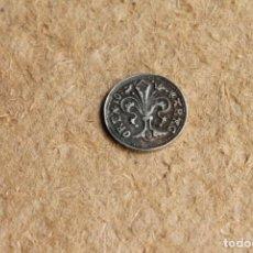 Reproducciones billetes y monedas: REPRODUCCIÓN DE MONEDA MEDIEVAL. CALALUÑA. S.IOHA. NNES.B. ARAGO-REX.. Lote 84073980