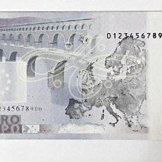 Reproducciones billetes y monedas: REPRODUCCION A 125% DE BILLETE DE 5 €. Lote 84255964