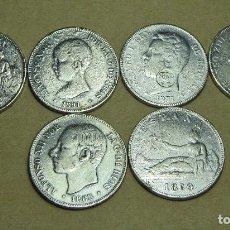Reproducciones billetes y monedas: LOTE DE MONEDAS ESPAÑOLAS. REPRODUCCIONES.. Lote 86218852