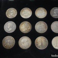 Reproducciones billetes y monedas: DE LA PESETA AL EURO COLECCION DE LA VANGUARDIA. Lote 86867188