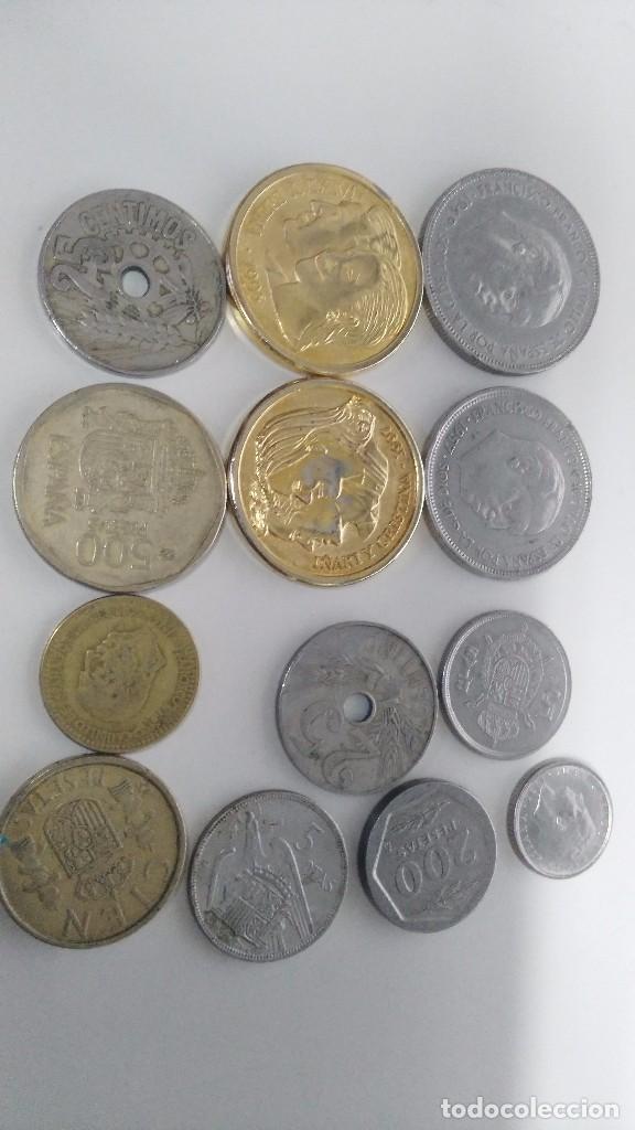 LOTE DE MONEDAS ANTIGUAS ESPAÑOLAS (Numismática - Reproducciones)
