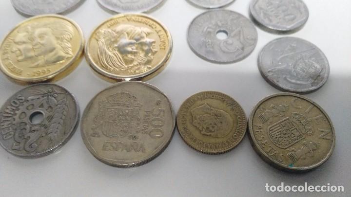 Reproducciones billetes y monedas: lote de monedas antiguas españolas - Foto 2 - 87511932