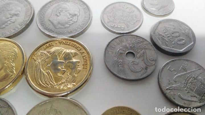 Reproducciones billetes y monedas: lote de monedas antiguas españolas - Foto 3 - 87511932
